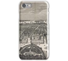 388 New York Birds' eye view looking south from Union Square iPhone Case/Skin