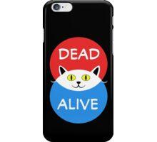 Schrödinger's Cat - Dead and Alive - Venn Diagram T Shirt iPhone Case/Skin