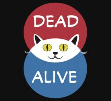 Schrödinger's Cat - Dead and Alive - Venn Diagram T Shirt T-Shirt