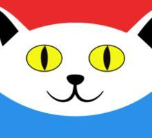 Schrödinger's Cat - Dead and Alive - Venn Diagram T Shirt Sticker