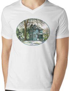 House Under the Big Tree Mens V-Neck T-Shirt