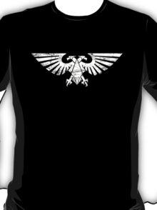 Warhammer 40k Aquila symbol (white) T-Shirt