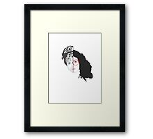 Watch Out For My Cousin Framed Print