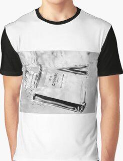 B/W Underwater Chanel Graphic T-Shirt