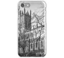 Church behind the trees iPhone Case/Skin