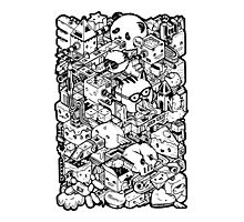 Welcome to Isometric City! Photographic Print