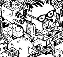 Welcome to Isometric City! Sticker