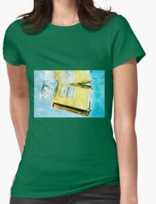 Underwater Chanel Womens Fitted T-Shirt