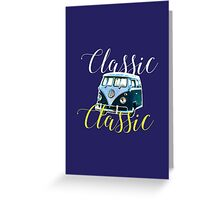 Classic, Typography Art #2 Greeting Card