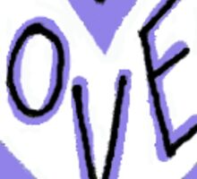 You Are Loved-Purple Sticker