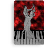 LETS FACE THE MUSIC AND DANCE /PICTURE / CARD Canvas Print