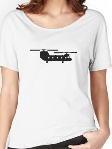 Army helicopter Women's Relaxed Fit T-Shirt
