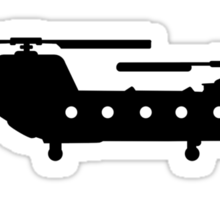 Army helicopter Sticker