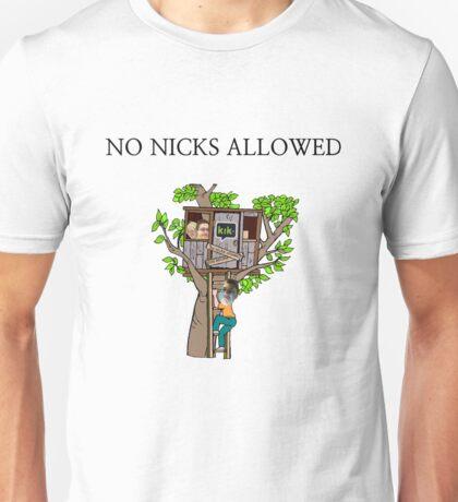 No Nicks Allowed Unisex T-Shirt