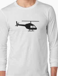 Helicopter Long Sleeve T-Shirt