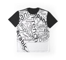 Country And Language Printed Graphic T-Shirt