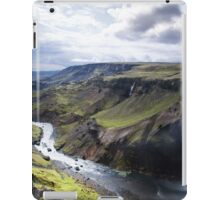 big valley iPad Case/Skin