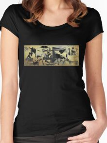 Guernica 14 Women's Fitted Scoop T-Shirt