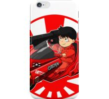 AKIRA - 'Kaneda and Bike' iPhone Case/Skin