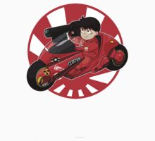 AKIRA - 'Kaneda and Bike' Kids Clothes