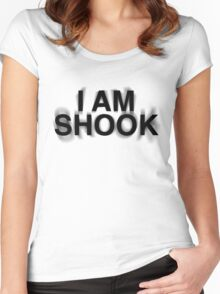 I am SHOOK Women's Fitted Scoop T-Shirt