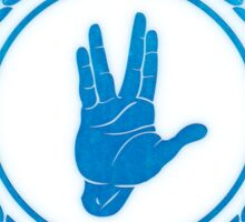 Live Long and Prosper - Spock's hand - Leonard Nimoy Geek Tribut Sticker