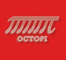 Octopi (PI) / Funny Nerd & Geek Humor (retro style) Kids Tee