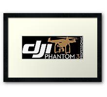 DJI Phantom  3 Professional Pilot UAV Drone  Framed Print