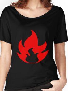 Pokemon TCG Fire Women's Relaxed Fit T-Shirt
