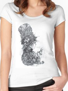 Thanato Women's Fitted Scoop T-Shirt