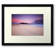 Scarista Dawn Framed Print
