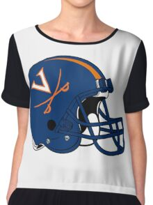 Virginia Football Chiffon Top