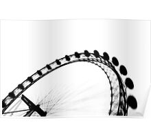 London Eye Abstract Poster
