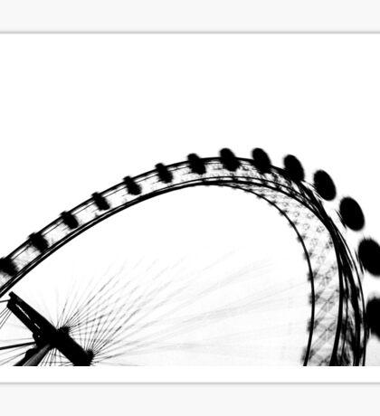 London Eye Abstract Sticker