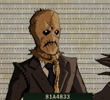Scarecrow - Gotham's Most Wanted Sticker