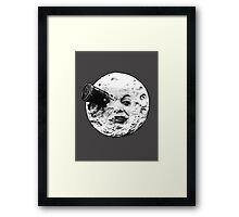A Trip to the Moon (Le Voyage Dans La Lune) - face only Framed Print