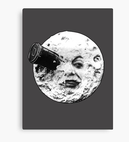 A Trip to the Moon (Le Voyage Dans La Lune) - face only Canvas Print