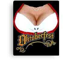 Funny Oktoberfest Fraulein Canvas Print