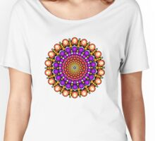 Time Tunnel Mandala Women's Relaxed Fit T-Shirt