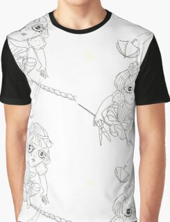 How Far To Fall Graphic T-Shirt