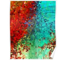 Colorful Abstract Art - Rejoice - Sharon Cummings Poster