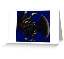 Dragon de ojos rojos Greeting Card