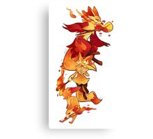 firefoxes Canvas Print