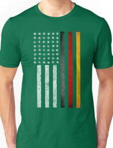 German American Flag Unisex T-Shirt
