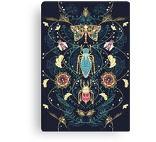 Glorious Bug Brooches Canvas Print