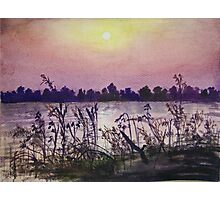 Sukhna Lake through a Writer's Lens Photographic Print