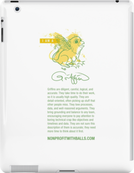 I AM A GRIFFIN! (vertical) by nonprofitwballs