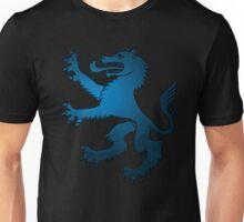 Royal Werewolf Blue Clan Symbol Unisex T-Shirt