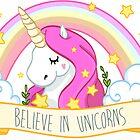Believe in unicorns by lunaticpark