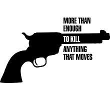 Metal Gear Solid Revolver Ocelot  Photographic Print